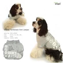 Champ Turtleneck Knit Jumper / Gray