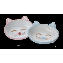 Here Kitty Stoneware Cat Bowls