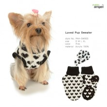 Luved Pup Sweater / Black