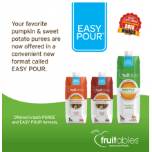 Fruitables Easy Pour Pumpkin Purees