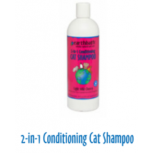Earthbath cat shampoo light wild cherry 16oz