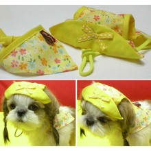 Picnic Hat & Scarf Set (Yellow)