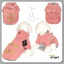 Basic Duffle Coat - Indigo Pink