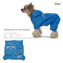 Hollywood All-in-one Raincoat -Blue