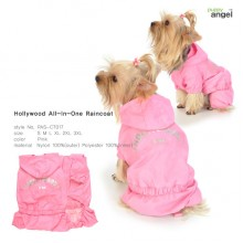 Hollywood All-in-one Raincoat -Pink