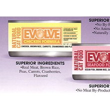 Evolve Canned Cat Food Chicken 5.5oz