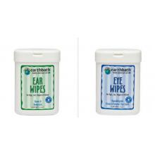 Earthbath Eye & Ear Wipes 25s