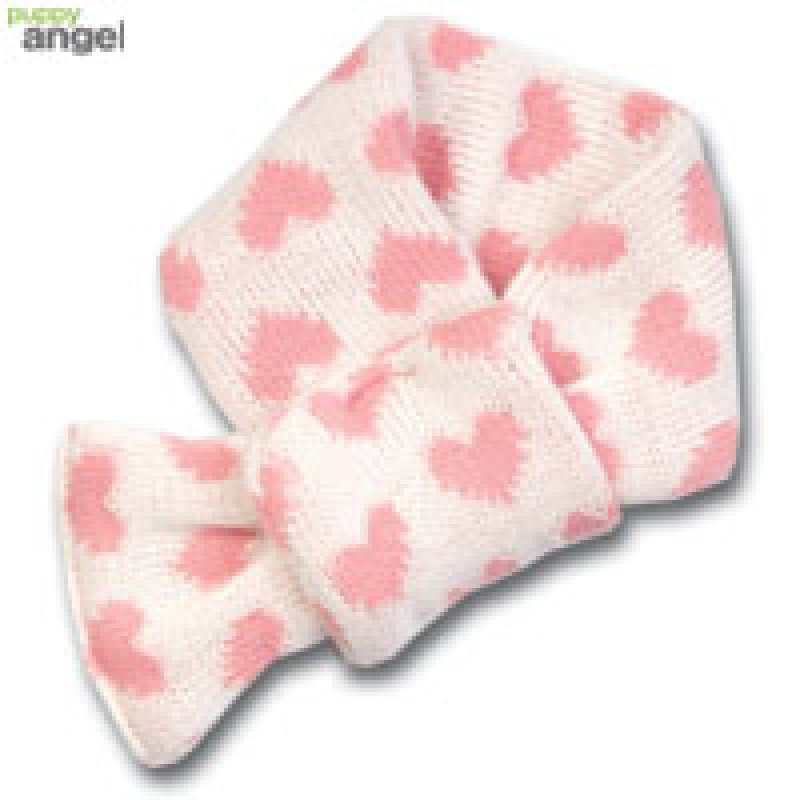 Heart Scarf / Pink