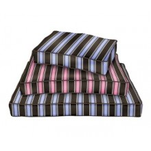 ONE FOR PETS - Classic Pillow Bed - Pink Stripe