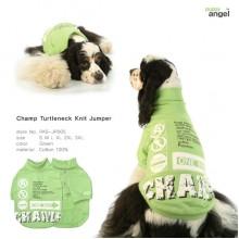 Champ Turtleneck Knit Jumper / Green