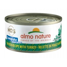 Almo Nature HQS Complete Chicken recipe with Turkey in Gravy 70g
