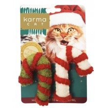 Dharma Dog Karma Cat - Cat Toy -Candy Canes, 2 pcs