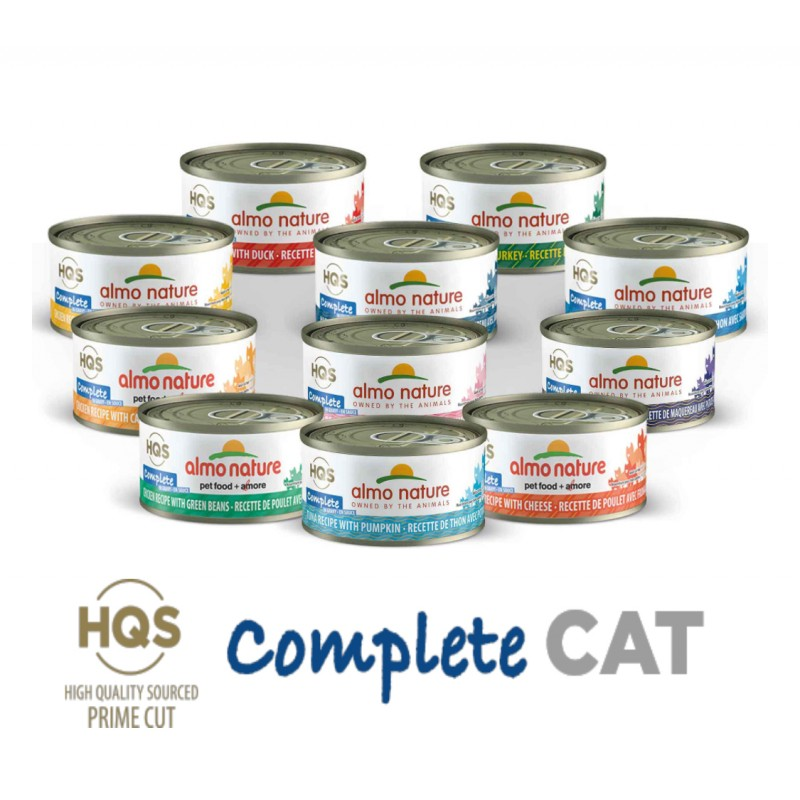Almo Nature complete Cat 2.47oz