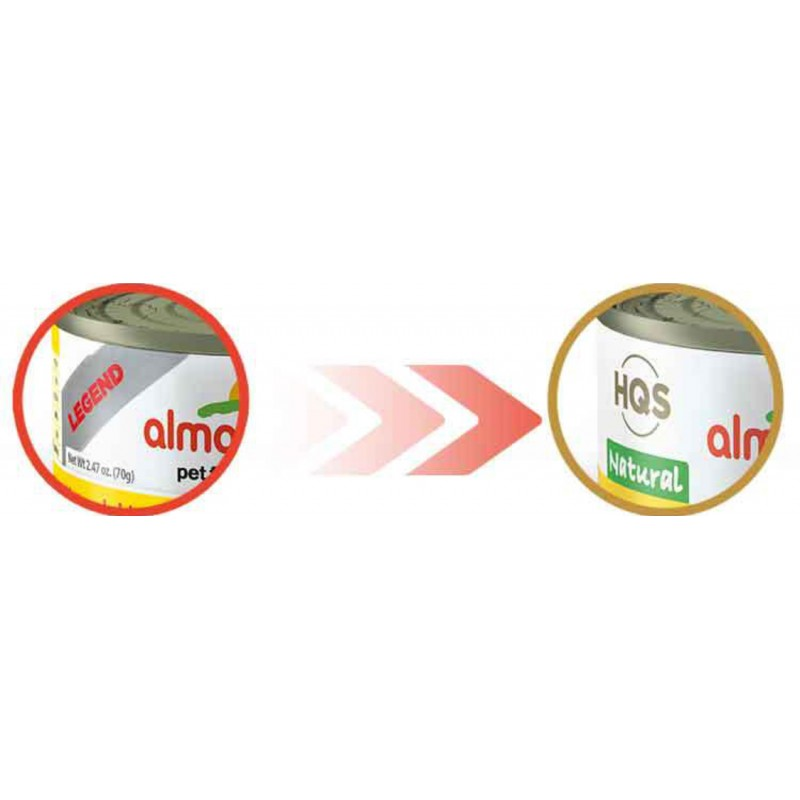 Almo Nature Natural  Grain-Free Canned Cat Food 2.47oz