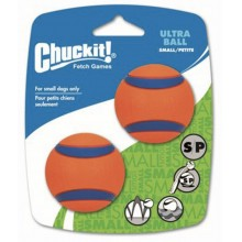 CHUCK IT! Launcher Compatible Ultra Ball Small 2-Pack