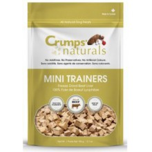 Crumps' Naturals Mini Trainers Freeze Dried Beef Liver 105g