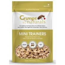 Crumps' Naturals Mini Trainers Freeze Dried Beef Liver 50g
