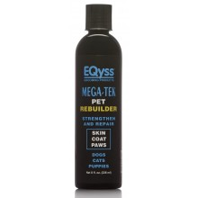 EQyss Mega-Tek Pet coat bare spots dry nose & paw pad Rebuilder 8oz