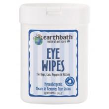 Earthbath Eye Wipes 25s