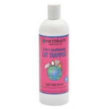 Earthbath cat shampoo light wild cherry 16oz