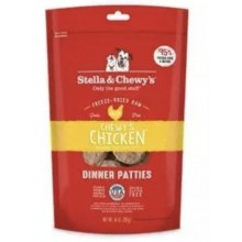 Stella  & Chewy's Freeze Dried Chewy's Chicken Dinner Patties 14oz