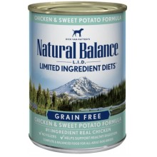 Natural Balance L.I.D. Limited Ingredient Diets Chicken & Sweet Potato Canned Dog Formula 13oz