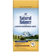 Natural Balance L.I.D. Limited Ingredient Diets Grain Free Duck & Potato Dry Dog Formula 4lb
