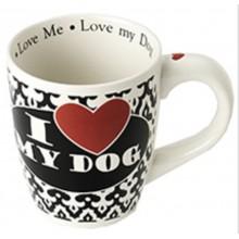 I Love My Dog Jumbo Mug, 28 oz