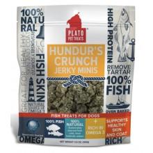 Plato Hundur's Crunch Fish Treats Jerky Minis 3.5oz