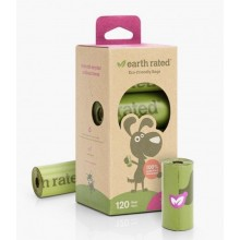 Earth Rated 120 Poo Bags on 8 Refill Rolls (Lavender)