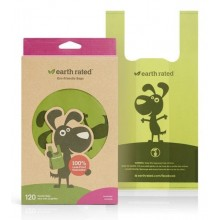 Earth Rated 120 Easy-Tie Handle Poo Bags (Lavender)