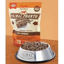 Primal Pronto Raw Frozen Canine Beef Formula 4lb