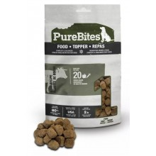 Purebites Beef Freeze Dried Dog Food • Topper 85g/3oz