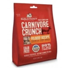#Stella&Chewy Freeze Dried Raw Carnivore Crunch Beef 3.25 oz