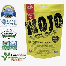Mojo Pet Supplements Hemp Sativa Extract Nutraceutical / Humane-Grade Beef Liver