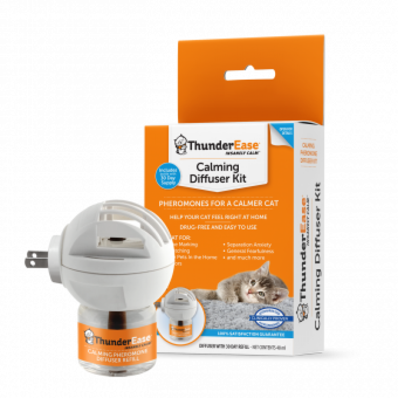 THUNDEREASE Cat Calming Diffuser Kit