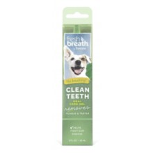 TropiClean Fresh Breath Clean Teeth Oral Care Gel for Dogs Dog 2OZ