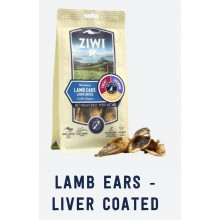 ZIWI Lamb Ears - Liver Coated 60g
