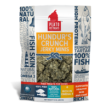 Plato Hundur's Crunch Fish Treats Jerky Minis 3.5oz