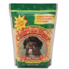 Charlee Bear Original Dog Treats with Cheese & Egg 16oz