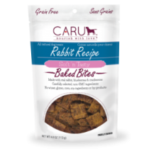 Caru Baked Bites Rabbit Recipe 4oz