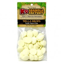 K9 Granola Factory 'Nilla Drops Vanilla Yogurt Chips 8oz