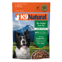 K9 Natural  Freeze Dried Lamb Feast 1.1lb