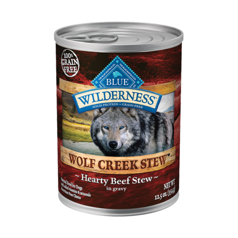 BLUE Wilderness Wolf Creek Stew Chunky Beef 12.5oz