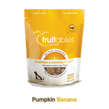 Fruitables Crunchy Pumpkin &  Banana Flavor 7oz