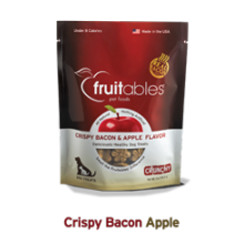 Fruitables Crunchy Crispy Bacon & Apple Flavor 7oz