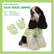 Easy Hood Jumper-Green