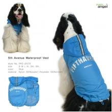 Puppy Angel 5th Avenue Waterproof Vest / Blue