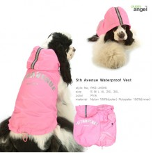 Puppy Angel 5th Avenue Waterproof Vest / Pink