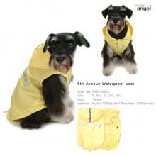 Puppy Angel 5th Avenue Waterproof Vest / Yellow